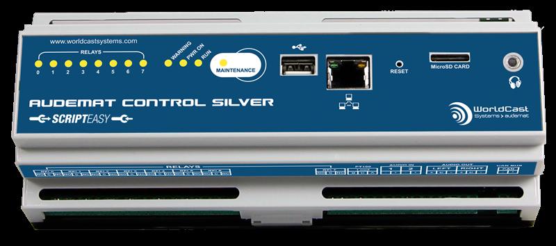 Audemat Control Silver