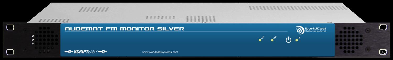 Audemat FM Monitor Silver