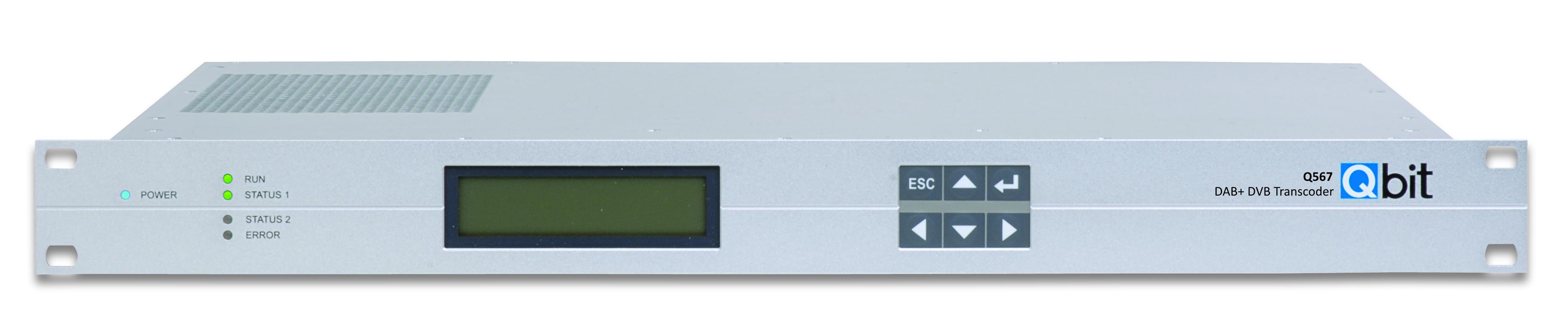 Qbit DAB+ DVB Transcoder